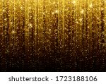 black background with falling... | Shutterstock .eps vector #1723188106