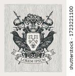 Vector Heraldic Coat Of Arms...
