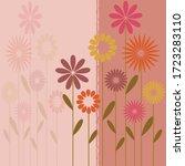 springtime vector background... | Shutterstock .eps vector #1723283110