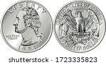 american money  washington... | Shutterstock .eps vector #1723335823