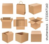big collection banner isolated... | Shutterstock . vector #1723347160