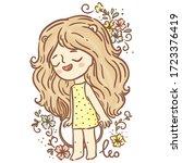 magic horoscope  zodiac sign ...   Shutterstock .eps vector #1723376419