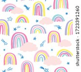 seamless repeat pattern in...   Shutterstock .eps vector #1723391260