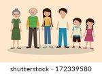 family design over  pink ...   Shutterstock .eps vector #172339580