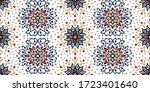 seamless floral pattern.... | Shutterstock .eps vector #1723401640