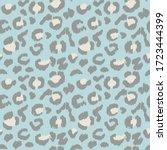 leopard skin. animal print....   Shutterstock .eps vector #1723444399