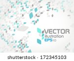 Stock vector simple geometric pattern vector illustration eps 172345103