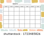 Monthly  Planner For Diary ...