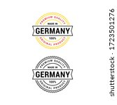 premium quality made in germany ...   Shutterstock .eps vector #1723501276