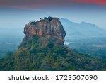 Sigiriya Rock Fortress At Dawn...