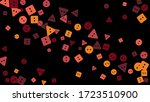 festive background with... | Shutterstock .eps vector #1723510900