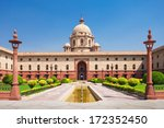 Rashtrapati bhavan is the...