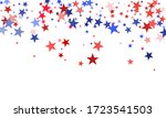 american independence day red... | Shutterstock .eps vector #1723541503