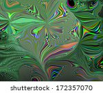 abstract glow green background  | Shutterstock . vector #172357070