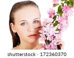 beautiful face of spa woman... | Shutterstock . vector #172360370