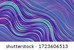 abstract digital fractal... | Shutterstock . vector #1723606513