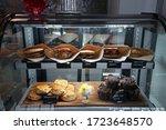 Bakery Display Shelf Fulled Of...