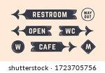 vintage graphic set. set of...   Shutterstock .eps vector #1723705756
