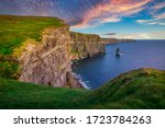 Amazing Cliffs Of Moher At...