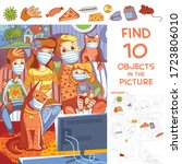 Find 10 Objects In The Picture. ...