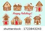 Christmas Card With Houses Made ...