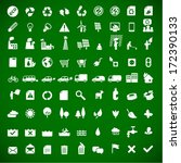 ecology   green energy icons... | Shutterstock .eps vector #172390133