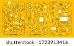 vector creative set of innovate ... | Shutterstock .eps vector #1723913416