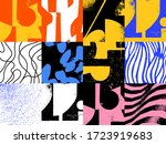 new grunge aesthetics in... | Shutterstock .eps vector #1723919683