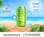 Mojito Drink Aluminium Can Ads...