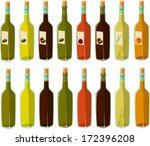 vector illustration of various... | Shutterstock .eps vector #172396208