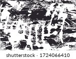 distressed background in black... | Shutterstock . vector #1724066410