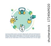 pollution factor concept icon... | Shutterstock .eps vector #1724069020