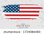 july 4th independence day... | Shutterstock .eps vector #1724086483