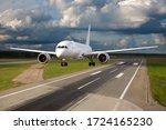 A Passenger Wide Body Plane...
