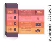 infographics template web...