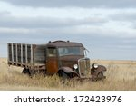 Antique Truck Rusting On The...