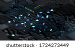 artificial intelligence and... | Shutterstock .eps vector #1724273449