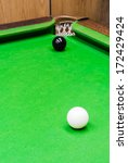 snooker ball on the table | Shutterstock . vector #172429424