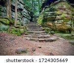 Stone Steps On The Ledges Trail ...