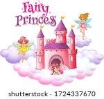 font design for word fairy...   Shutterstock .eps vector #1724337670