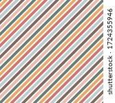 diagonal stripes seamless...   Shutterstock . vector #1724355946