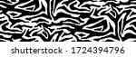 zebra stripes skin. abstract... | Shutterstock .eps vector #1724394796