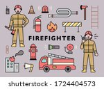 Firefighter Character And...
