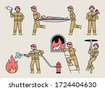 Firefighters\' Various Rescue...