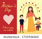 international mother's day ...   Shutterstock .eps vector #1724536363