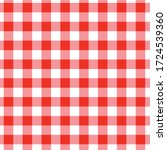 Red Checkerboard Tablecloth  ...