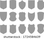 emblem silhouette set   vector | Shutterstock .eps vector #1724584639