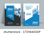 corporate book cover design... | Shutterstock .eps vector #1724660269
