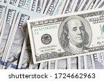 Us Dollar Bills. One Hundred...