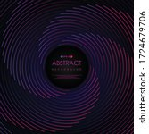 abstract stripe line pattern... | Shutterstock .eps vector #1724679706